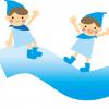 長良川河川敷の清掃と鮎の放流
